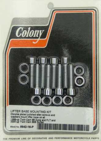 Colony Screw Kit Lifter Base, chrome