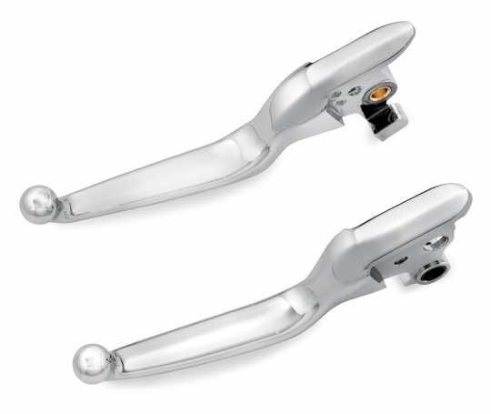 Harley-Davidson Hand Control Lever Kit, chrome  - 36700104