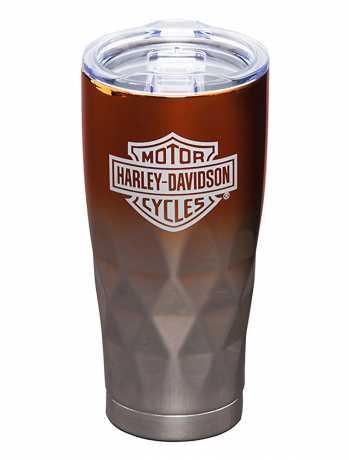 H-D Motorclothes Harley-Davidson Electroplate Diamond Tumbler 591ml  - 3SSH4900TS