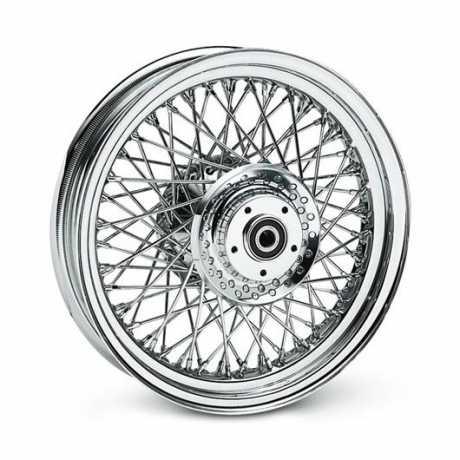 "Harley-Davidson 80-Spoke Laced Custom Wheel 16"" Rear chrome  - 40750-08"