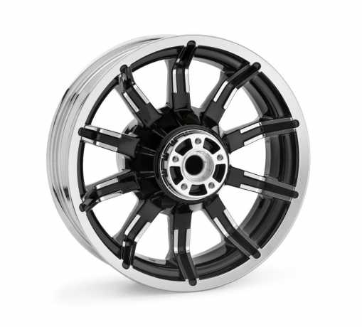 Harley-Davidson Impeller Custom 5x16 Rear Wheel - Contrast Chrome  - 40900391