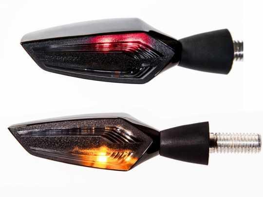 Motogadget Motogadget m-Blaze Edge 3in1 Blinker Set  - 41-99-1300V