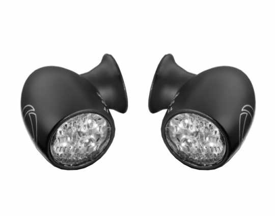 Kellermann Bullet Atto DF Blinker Set 3in1 schwarz/klar