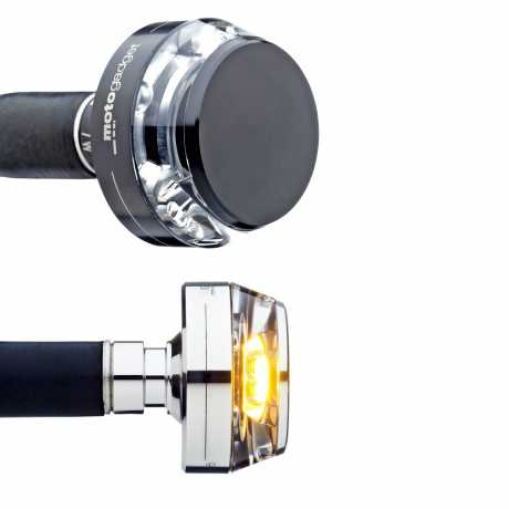 Motogadget Handlebar mo.Blaze Disc bar end turn signals  - 41-99-990V