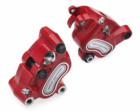 Harley-Davidson Brake Caliper Kit red - Front and Rear  - 41300127