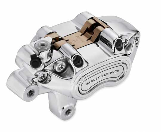 Harley-Davidson Front Single Disc Brake Caliper Kit chrome  - 41300148