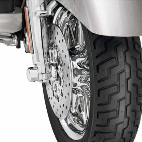 Harley-Davidson Vorderrad-Distanzringe Gewölbt chrom  - 41371-08