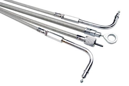 "Motion Pro Motion Pro Kupplungszug 58.1"" Stahlflex klar  - 41-601"