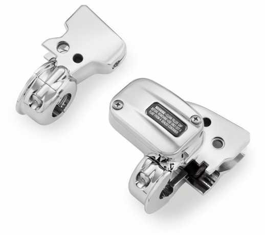 Harley-Davidson Clutch Bracket and Master Cylinder Reservior Kit chrome  - 41700480