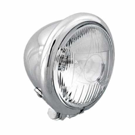 "Thunderbike 4,5"" high beam head light ""Bate style"" chrome  - 42-00-100"