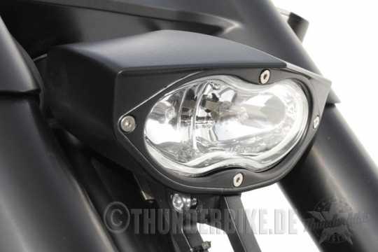 Thunderbike Headlight Time Crack clear | black - 42-99-760
