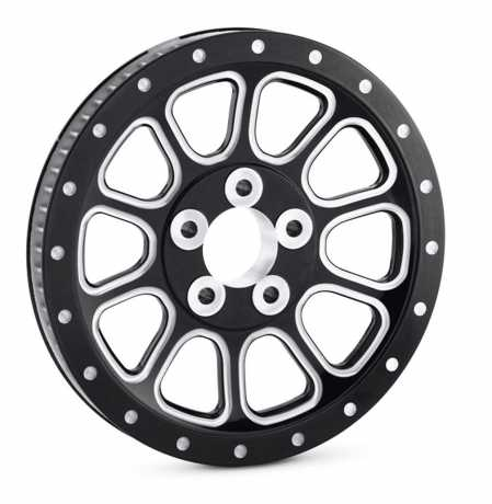 Harley-Davidson Cut Back Billet Sprocket gloss black  - 42200001A