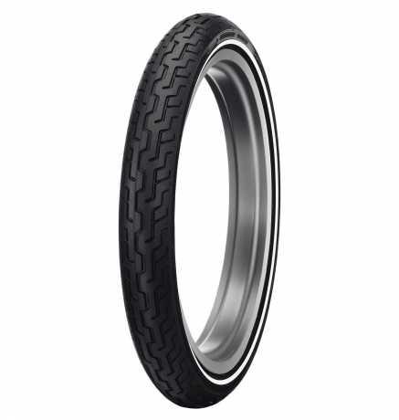 Dunlop Dunlop D402F Front Tire MH90-21 Medium Whitewall  - 43100004