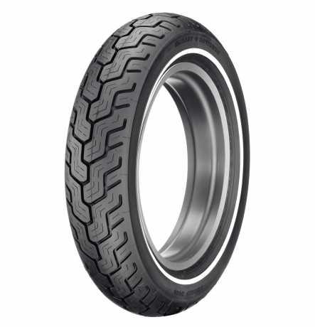 Dunlop Dunlop D402 Rear Tire MT90B16 Slim White Stripe  - 43114-91B