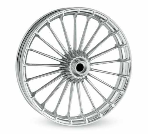 Turbine Custom-Wheel 3.5x21 Front, Chrome