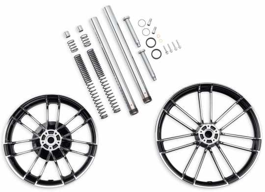 43300494 knockout custom wheel kit 18 u0026quot   u0026 21 u0026quot  contrast