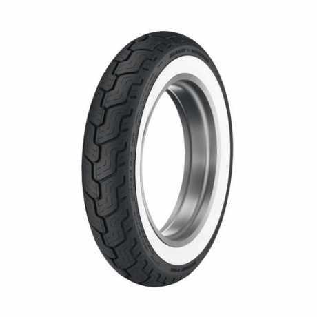 Dunlop Dunlop D402 Rear Tire MU85B16 Wide Whitewall  - 43353-03