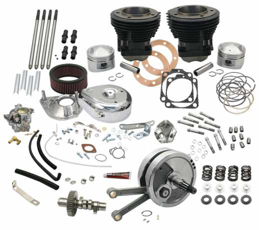 """S&S Cycle S&S 93"""" Hot Set Up Kit  - 45-957"""