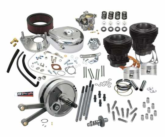 """S&S Cycle S&S 93"""" Hot Set Up Kit 3 5/8"""" Bore  - 45-958"""