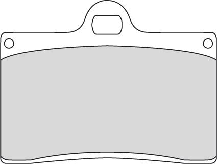 Ferodo Ferodo Platinum P Brake Pad FRP408P  - 45-41317