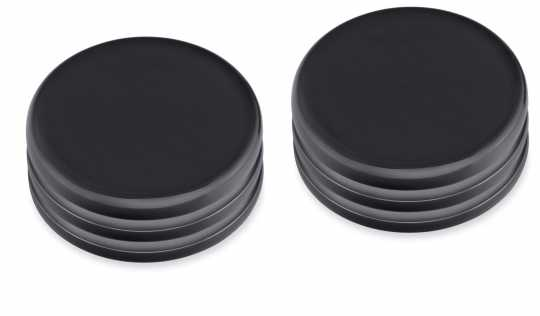 Harley-Davidson Upper Fork Nut Covers Black  - 45500515