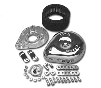 S&S Cycle S&S Teardrop Luftfilter  - 64-5800