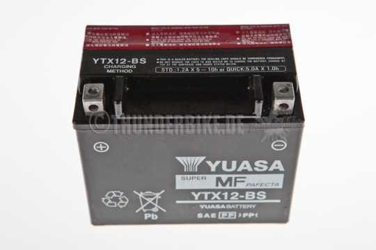 Yuasa Yuasa YTX12-BS Battery  - 46-04-010
