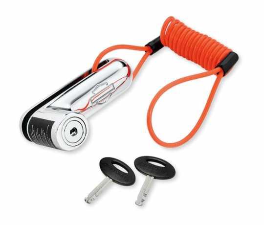 Harley-Davidson Disc Brake Lock and Reminder Cord‰ Chrome  - 46086-98A