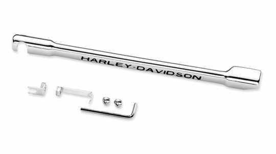 Harley-Davidson Schaltgestängeabdeckung Harley-Davidson Schriftzug  - 46302-01