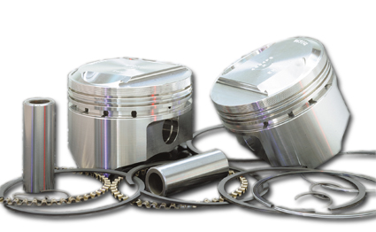 Wiseco Wiseco Forged Piston Kit 10:1 Standard  - 47-082