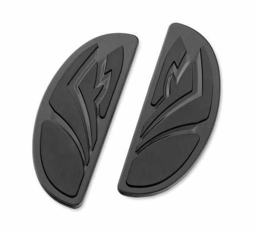 Harley-Davidson Tribal Footboard Insert Kits Rider - Half-Moon Shape  - 50269-09