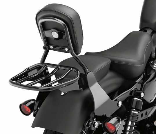 Harley-Davidson Konischer Custom-Sport Gepäckträger schwarz  - 50300031