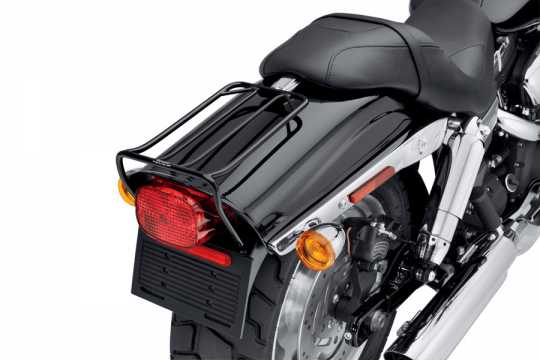 Harley-Davidson Bobtail Fender-Gepäckträger schwarz  - 50300036