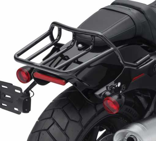 Harley-Davidson HoldFast Two-Up Luggage Rack gloss black  - 50300140