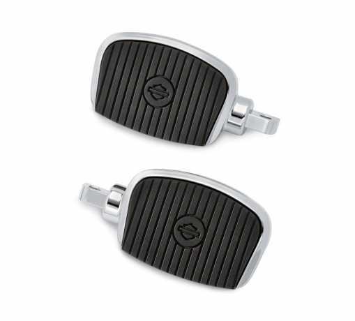 "Harley-Davidson Mini Footboard Kit Small 3"" - Chrome  - 50500139"