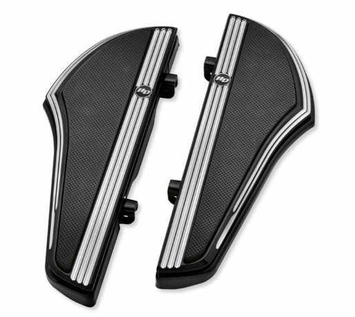 Harley-Davidson Defiance Rider Footboard Kit black cut  - 50500527