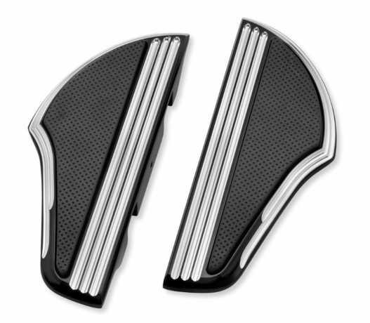 Harley-Davidson Defiance Passenger Footboard Kit black cut  - 50500528