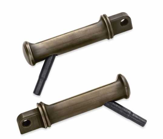 Harley-Davidson Brass Footpegs with Styled Wear Peg  - 50500791
