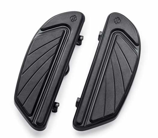 Harley-Davidson Airflow Rider Footboard Kits Gloss Black  - 50501265
