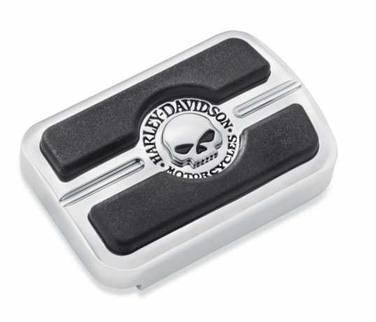 Harley-Davidson Willie G. Skull Brake Pedal Pad - Small  - 50600313