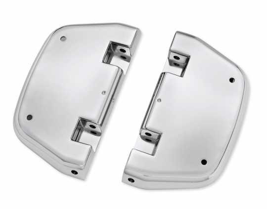 Harley-Davidson Passenger Footboard Pans chrome  - 50752-04