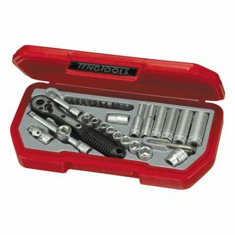 """Teng Tools Teng Tools 1/4"""" Steckschlüsselsatz US  - 514103"""