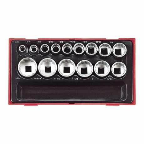 Teng Tools Teng Tools 12-Point Sockets 15-teilig  - 514422