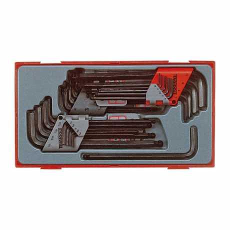 Teng Tools Teng Tools Inbus- & Torx-Schlüssel-Satz 28-teilig  - 514431