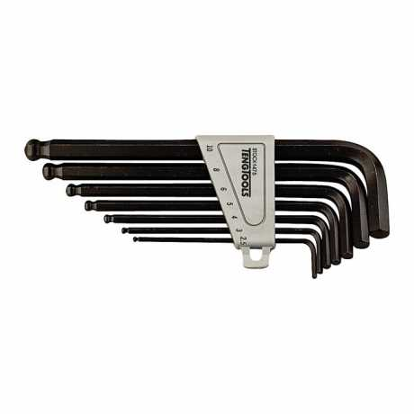 Teng Tools Teng Tools Ball-End Allen Wrench Set 7-pieces  - 514432