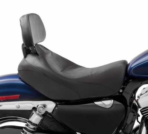 "Harley-Davidson Signature Solo Seat with Rider Backrest 15""  - 52000034"