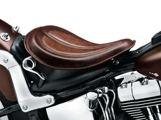 Harley-Davidson Solo Federsattel Leder braun  - 52000278