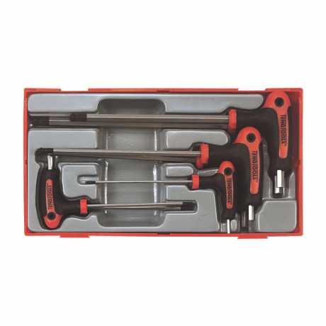 Teng Tools Teng Tools T-Innensechskant Schlüssel Set US  - 521072