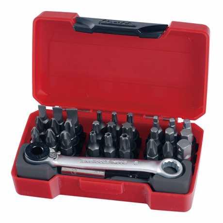 """Teng Tools Teng Tools 1/4"""" Ratchet Bit Driver & Bits Set  - 521077"""