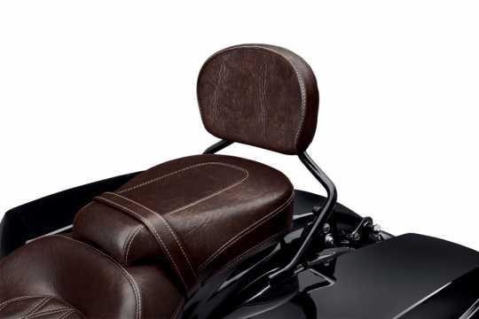 Harley-Davidson Short Passenger Backrest Pad - Mahogany Brown  - 52300141A